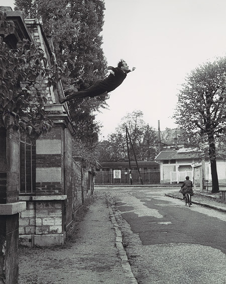 (Ref Image: Yves Klienu0027s Photograph, Leap Into The Void, 1960, One Of My  Favorite Image When Trying To Explain The House To Other People)