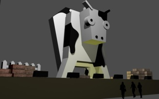 cow stage