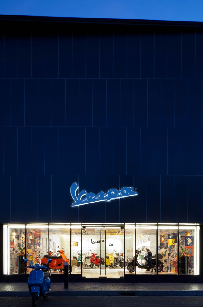 Vespa Gallery, Bangkok (***Complete Images) | Supermachine Studio