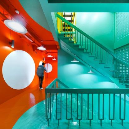 2nd floor hall way